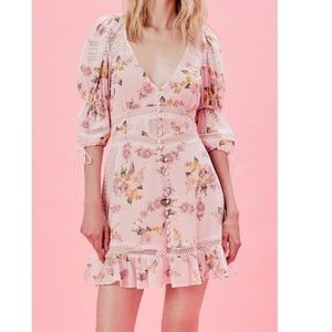 For Love & Lemons Isadora dress NWT